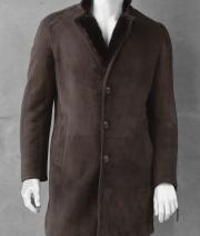 Palton blana velur